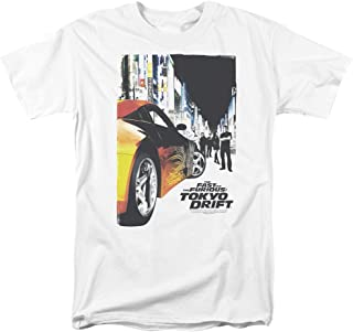 The Fast & The Furious Tokyo Drift Action Racing Movie Poster Adult T-Shirt Tee
