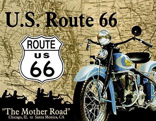 GamePoint 'Original U.S.A. Cartel de Chapa Route 66