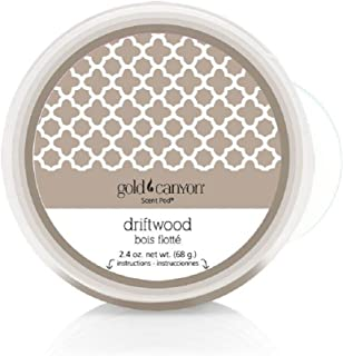 Gold Canyon Candles Scent Pod Wickless Candle (Driftwood) ~ Notes of Bergamot, Green Leaf & Cedarwood