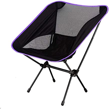 Huiiv Freizeit Beach Chair Outdoor Fold Moon Chair Ultralight Metal Oxford Camping Camping Wanderstuhl Camping Leisure Barbecue B07PZ14C17 | Sale