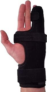 Metacarpal Finger Splint Hand Brace – Hand Brace & Metacarpal Support for Broken Fingers, Wrist & Hand Injuries or Little Finger Fracture (Left - Large)