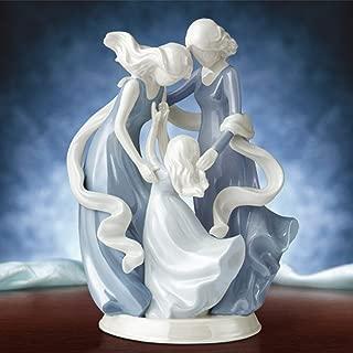 Love Carries On 3 Generations Grandmother Mother Daughter Heirloom Porcelain Figurine