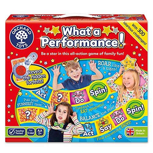 Orchard_Toys BG32 - Juego de Mesa What a Performance! (en inglés, Importado...