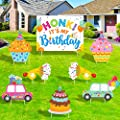 Honk! Its My Birthday Yard Sign Outdoor Lawn Decorations Birthday Party Parade Yard Signs Quarantine Birthday Yard Sign Social Distancing Party Ideas at Home Party Decorations