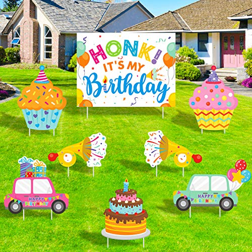 Honk! Its My Birthday Yard Sign Decorations