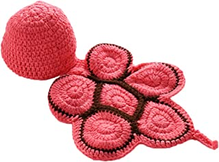 Tricherry Baby Girl Boy Crochet Knit Costume Photo Photography Prop Hats Outfits