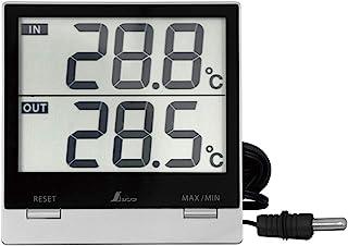 シンワ測定(Shinwa Sokutei) デジタル温度計 Smart C 最高・最低・室内・室外・防水外部センサー 73118