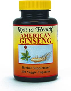 HSU's Ginseng SKU 1001   American Ginseng Capsules 100ct  Cultivated Wisconsin American Ginseng Direct from Hsu's Ginseng ...