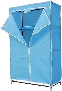 GIAOGIAO Pliante Armoire de Rangement Anti-poussière Simple Armoire Assemblée Cabinet Armoire Portable (Color : Purple)