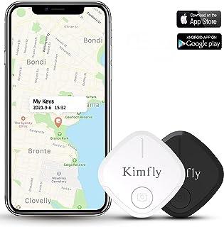 $49 » Key Finder Smart Tracker-2pcs,Kimfly Item Finder Wallet Locator Phone Finder Bluetooth Tag