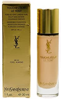 Yves Saint Laurent Le Teint Touche Eclat SPF 22 No. BR30 Cool Almond Awakening Foundation for Women, 1 Ounce