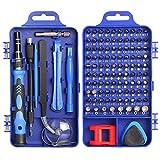 Juego destornilladores electricista precisión, Faireach kit de herramientas relojero, Kit destornilladores gafas para reparar computadoras, teléfonos celulares, reloj, iPhone, iPad, Mac y mucho más