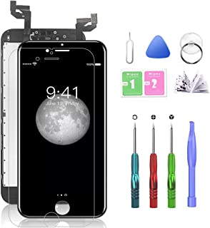 Best Compatible with iPhone 6S Plus Screen Replacement Black 5.5 Inch LCD Display with 3D Touch Screen Digitizer Frame Full Assembly Include Full Free Repair Tools Kit+Instruction+Screen Protector Review