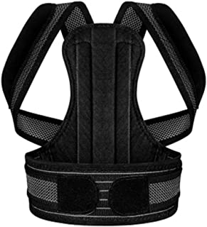 Yxian Posture Corrector for Men and Women Adjustable Support Brace Provides Lumbar Support/Adult - Child,B,XXL