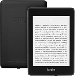 Kindle Paperwhite, waterdicht, hoge-resolutie-display van 6 inch, gratis 4G + wifi, 32 GB, zwart