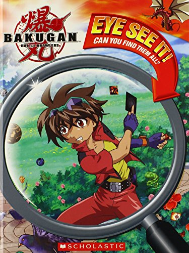 Eye See It!: Can You Find Them All? (Bakugan Battle Brawlers)