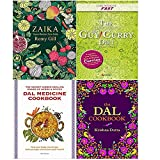Zaika [Hardcover], Lose Weight Fast The Slow Cooker Spice-Guy Curry Diet Recipe Book, Dal Medicine Cookbook, The Dal Cookbook [Hardcover] 4 Books Collection Set