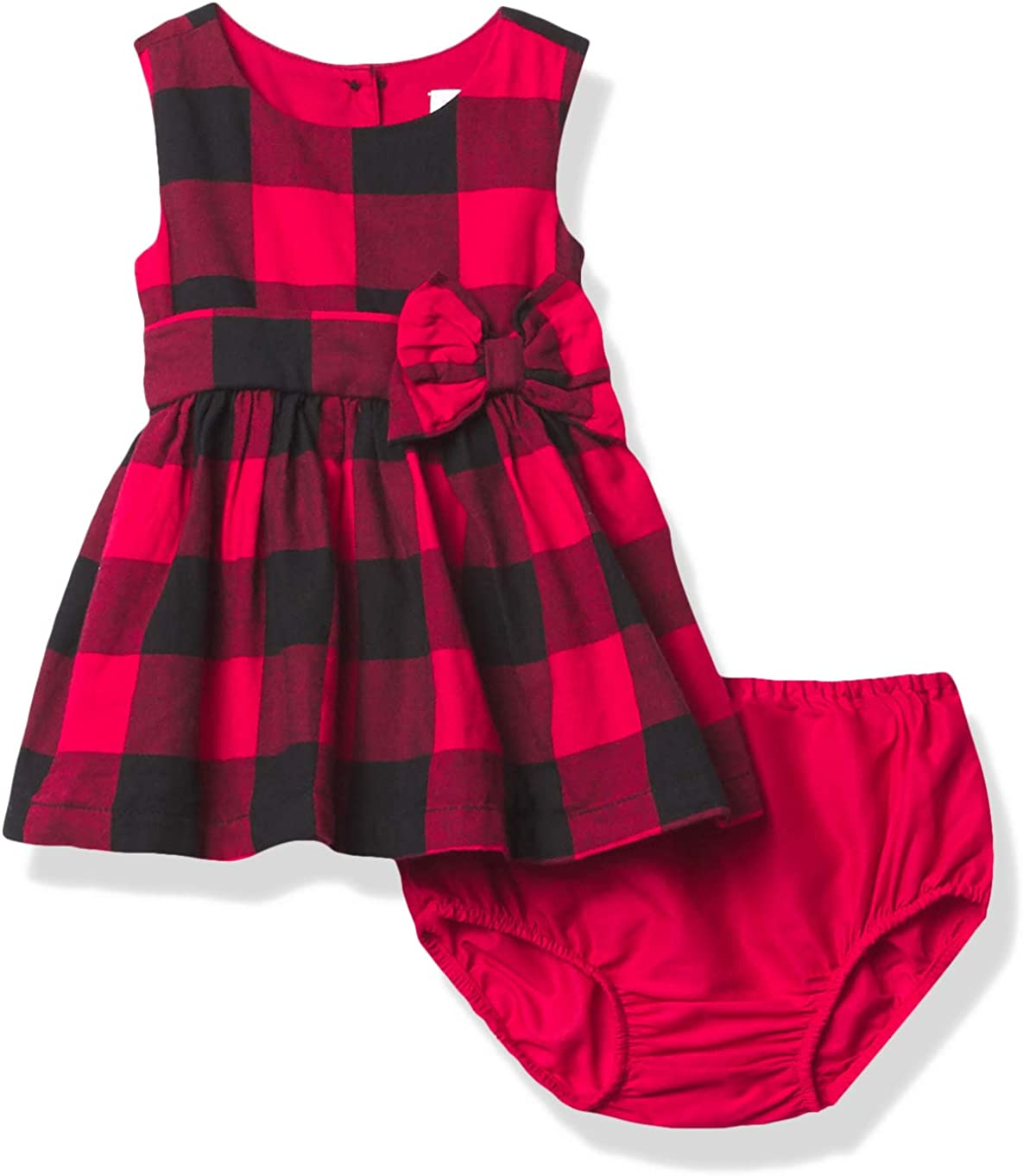 The Children's Place Baby Girls' Max 52% OFF Family Buffalo F Save money Plaid Matching