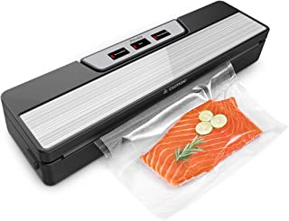Aitsite Machine Sous Vide Alimentaire, Machine de Scellage en Acier Inoxydable, Appareil Sous Vide pour Viande, Légume et ...