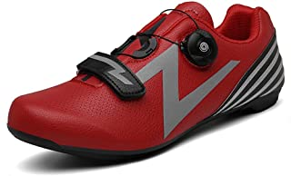 OneChange Road Cycling Shoes Mens Lightweight Breathable MTB Bike Shoes Anti-Skid Lock Spinning Shoes for Sports Mountain ...