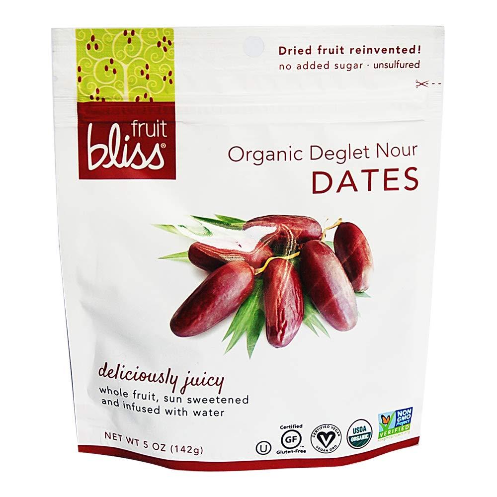 Fresno Mall Fruit Bliss Organic Deglet Dates Superlatite Nour Pitted –