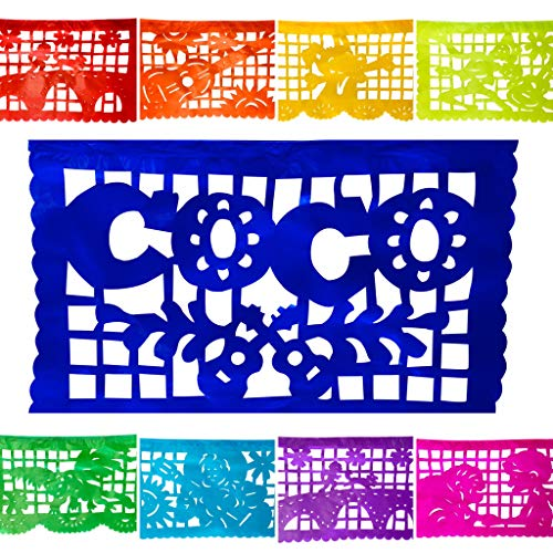 Coco Inspired Party Banner 2 Pack - Paper Rainbow Medium Size Garlands (30 Feet Total) Perfect For All Fiestas