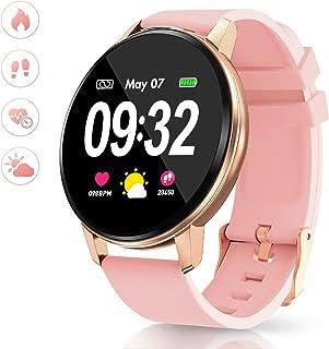 comprar comparacion Smartwatch Deporte para Mujer Hombre con Pantalla Completa Táctil Monitores de Actividad Impermeable Outdoor Fitness Track...