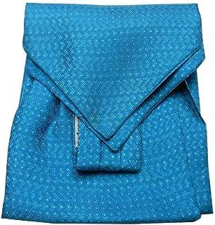 Avantgarde UOMO VARI ascot di seta foulard da collo CASHE COL BLU con disegni a FIORI SETA