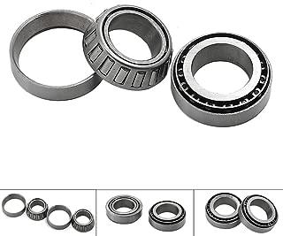 Motoparty Steering Head Stem Bearing Seal Kit For Honda CB250 CB175 K3-K7 CB125S CB100 CRF50F CM250 CMX250 CT70 CT90 CT110 CR125 XL70 XL100 Z50 XR70 XR185 XR200 CRF CB CT CMX XL Steering Bearing Set