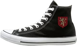 House Lannister Main Shield Fashion Casual Canvas High-top Sneakers Unisex