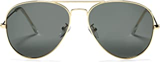 Classic Polarized Aviator Sunglasses for Men and Women UV400 Protection