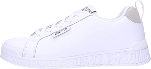 Versace jeans couture sneakers in pelle 8058987156465