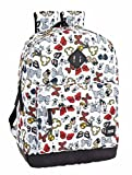 Safta - Mochilas de Minnie o Mickie Mouse de Varios tamaños (Minnie Mouse Icons, 320x140x430mm)
