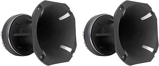 """$114 » 2 Rockville HT120 2"""" 360w Car/Pro Aluminum Horn Titanium Tweeters 2"""" Voice Coils"""