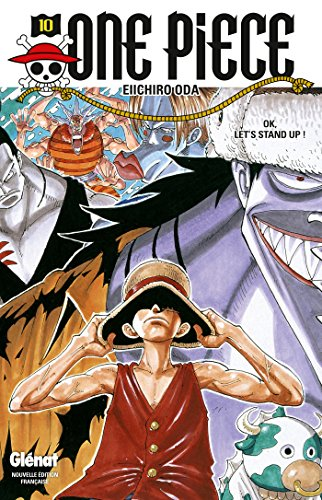 One Piece - Édition originale - Tome 10 : OK, Let's STAND UP !