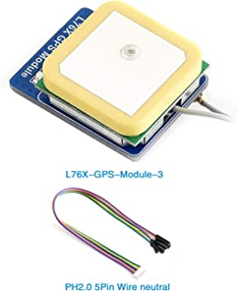 Raspberry Pi/STM32 GPS Module (CQRGPS-A), Supports GPS, BDS, QZSS. for Security Systems, Industrial PDAs, GIS Applications, etc.
