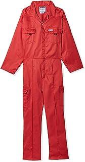 Ameriza Cheif-C Twill Cotton Coverall - Red