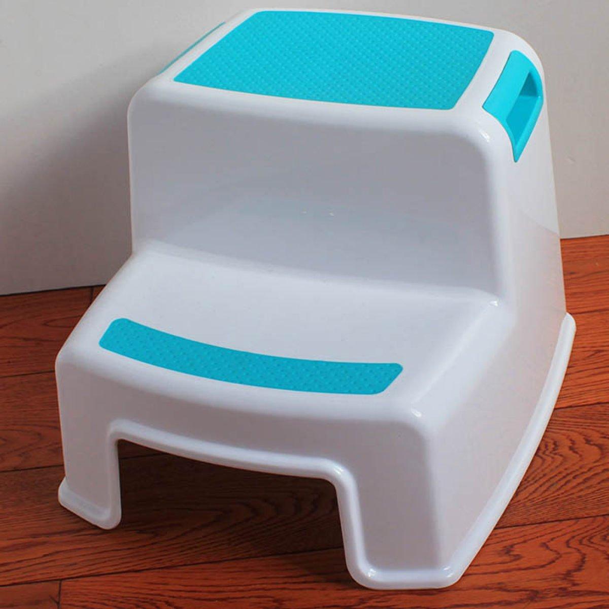 Taburete De Plástico Para Niños Escalera Antideslizante Para Bebés Banqueta De Baño Lovely Warm Foot Stool,D: Amazon.es: Hogar