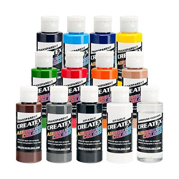 Transparent-12-CREATEX-Airbrush-Paint-Colors-Set