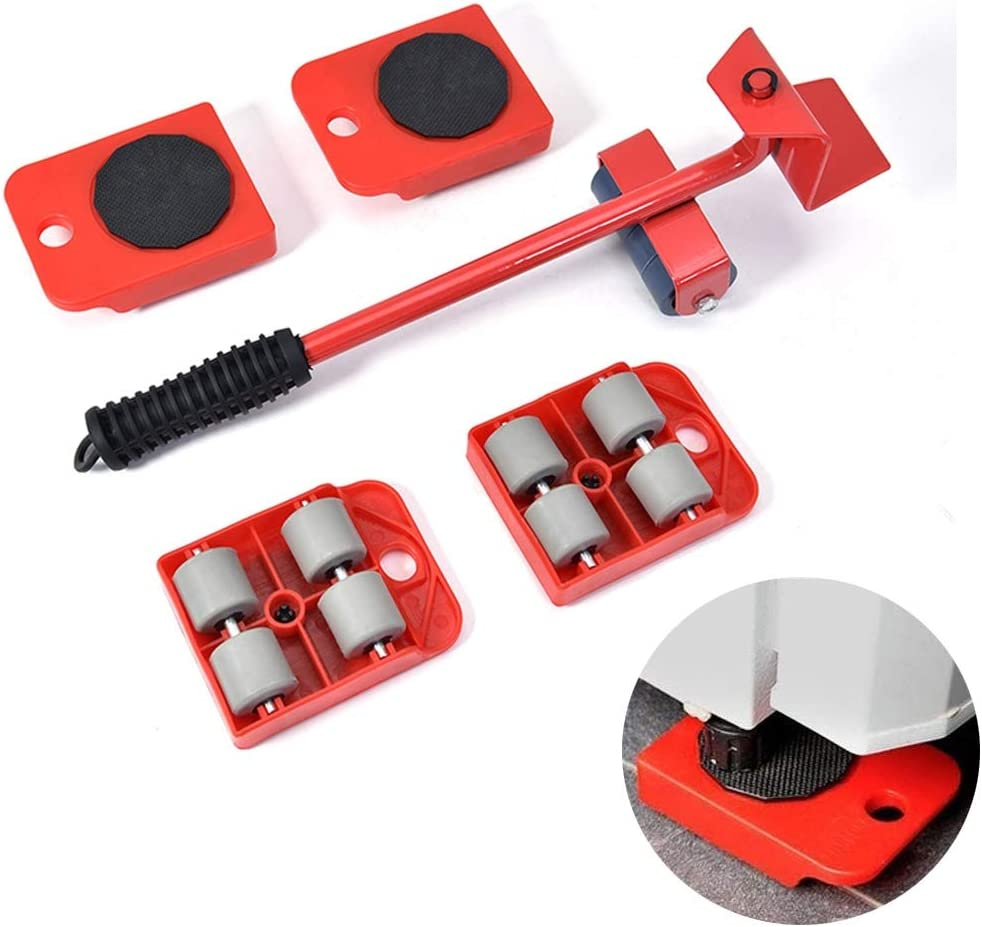 OUUCL Furniture Lifter Lowest price challenge Easy Moving Sliders Ea Mover Max 82% OFF Set Tool -