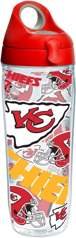 Tervis NFL Kansas City Chiefs Max 54% OFF All Tumbler Detroit Mall and with Over Red Wrap