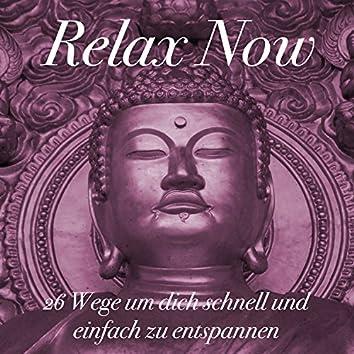 Relax Now: 26 Wege um dich schnell und einfach zu entspannen