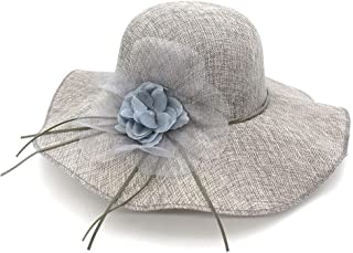 Sun Hats Flower Wide Brim Hats for Female Light Weight Breathable hat Female Casual Shade Summer hat
