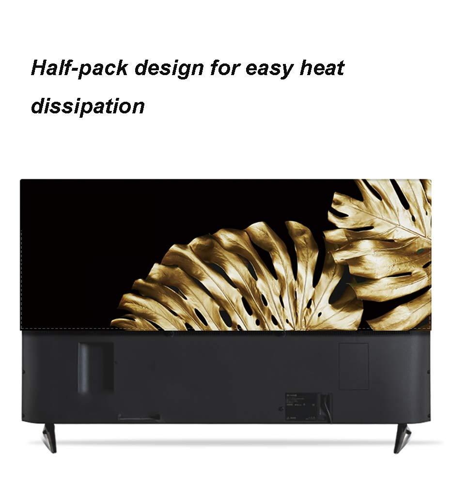 YMYP08 Cubierta De TV LCD De Tela, Decoración De Oro De La Hoja ...