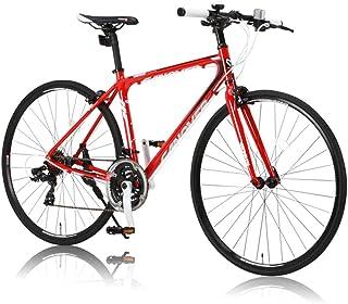 CANOVER(カノーバー)  クロスバイク 700C シマノ21段変速 CAC-021 (VENUS) 特殊加工 アルミフレーム フロントLEDライト付