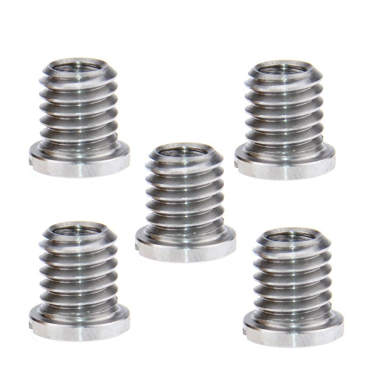 camvate 5件螺纹 SCREW 适配器1?/ 2英寸 - 母接头至3?/ 10?cm -16?MALE FR DSLR 三脚架 monopod