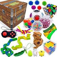 Colección de juguetes sensoriales para niños y adultos, alivio del estrés y antiansiedad, juego de 25 piezas, juguetes...