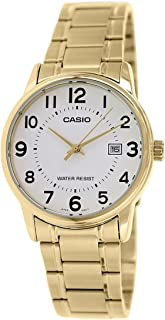 Casio Analog Stainless Steel Band Watch for Women LTP-V002G-7B