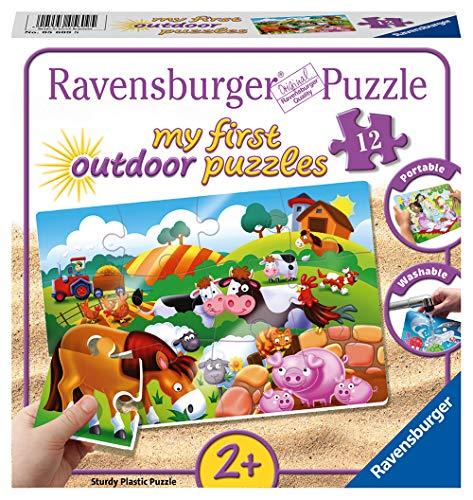 Ravensburger 05609 My First Outdoor-Puzzle de Animales de Gr