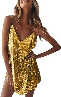 Best yellow sequin dress Reviews